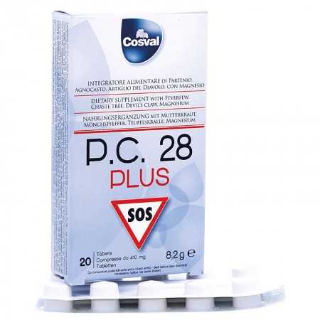 P.C. 28 Plus tablets (20 tablets) — Vivasan