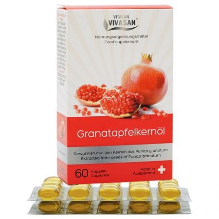 Pomegranate Seed Oil (60 g. Capsules) — Vivasan