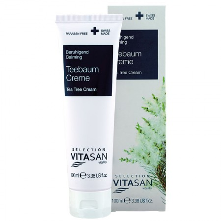 Cream with Tea Tree, Manuka and Kanuka 100 ml. — Vivasan