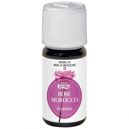 Natural essential oil from Moroccan rose — Vivasan