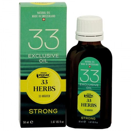"""Natural essential oil from """"33 herbs Strong"""" — Vivasan"""