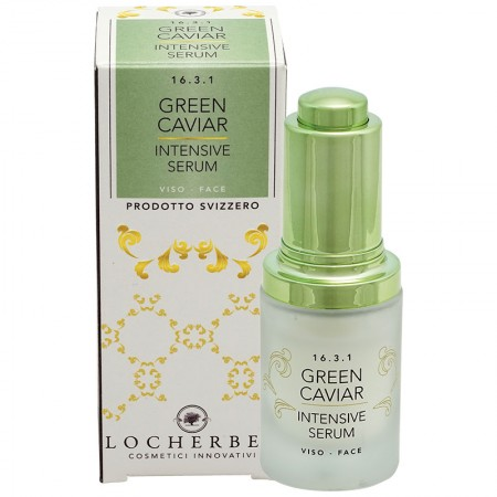 GREEN HAVER SERUM with green seaweed 15 ml. — Vivasan
