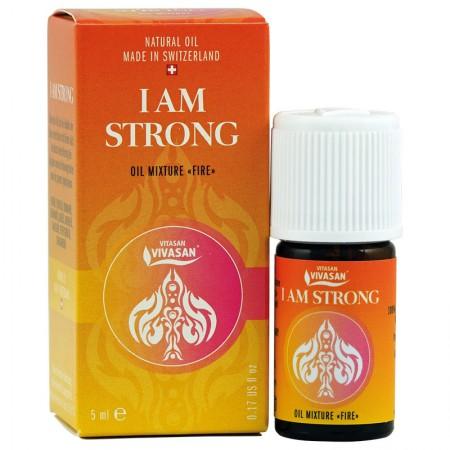 """Смес от Етерични Масла """"Изпълнен със Сила"""" I AM STRONG — Vivasan"""