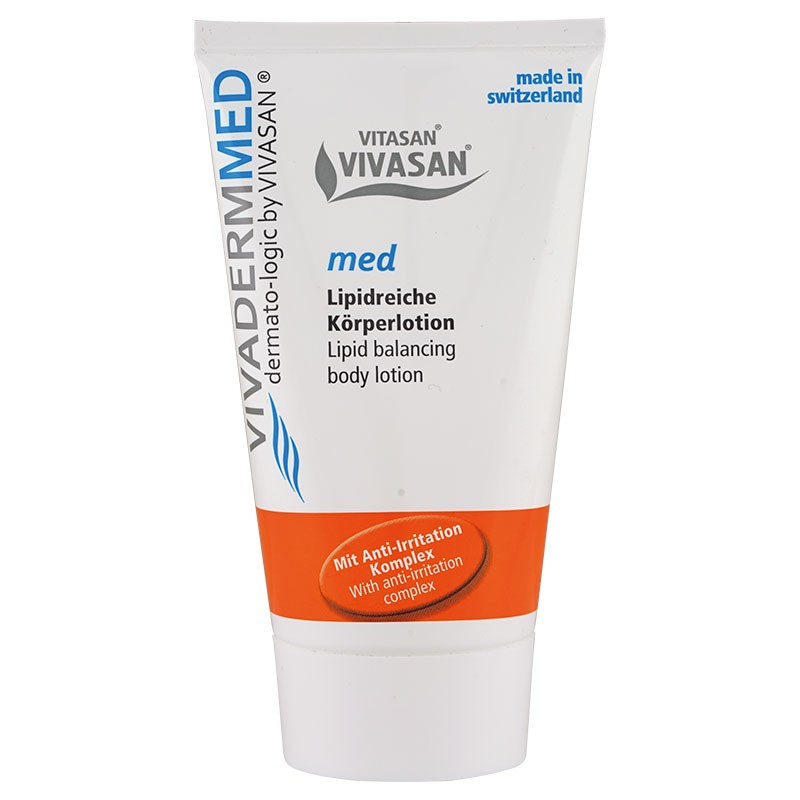 Vivaderm med body lotion with lipids