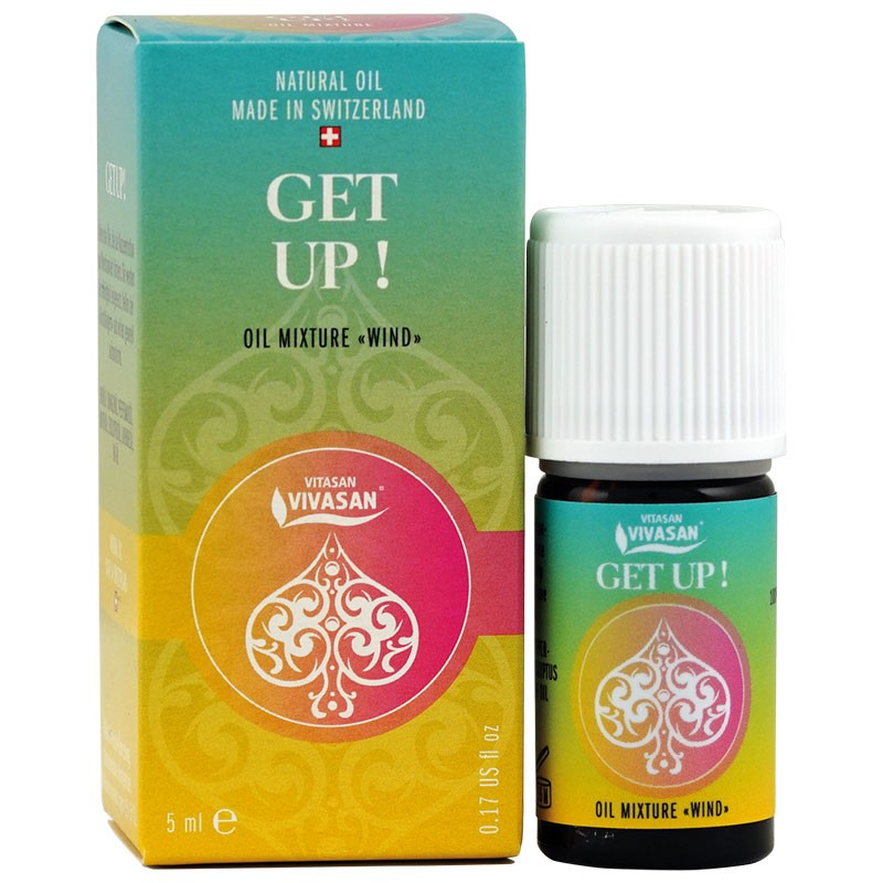 A mixture of natural essential oils GET UP