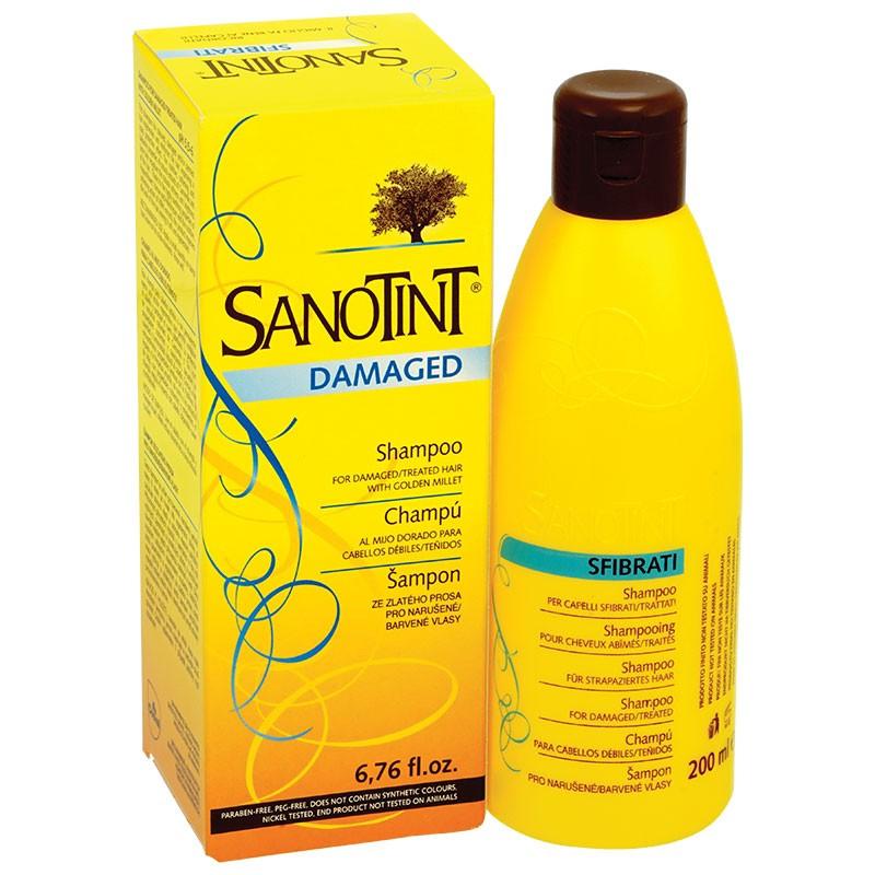 Shampoo Sanotint for damaged hair