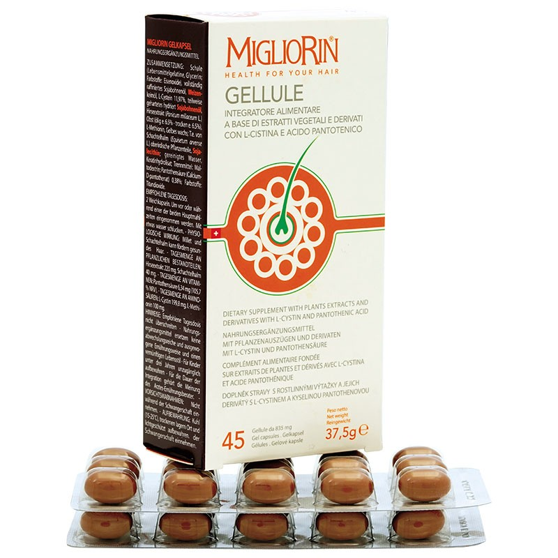 MIGLIORIN (45 capsules for hair and nails)