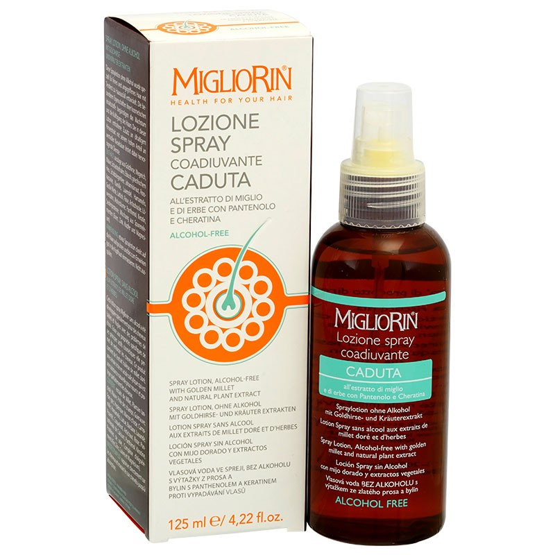 Migliorin Lotion against hair loss without alcohol