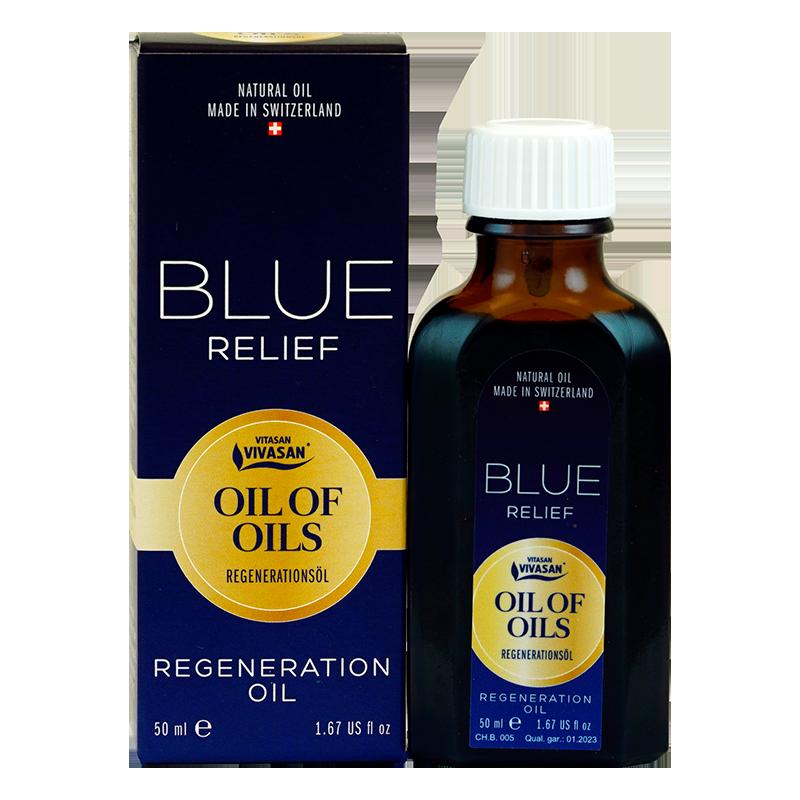 Blue Relief 50ml. - Композиция от натурални етерични масла за стави