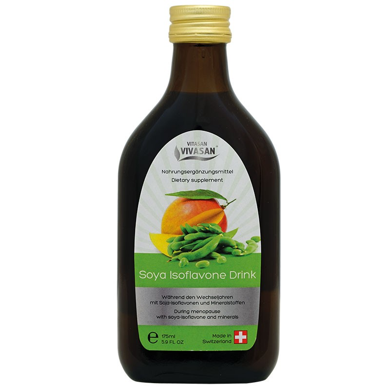 СОЯ ИЗОФЛАВОНИ - натурална хранителна добавка в течна форма