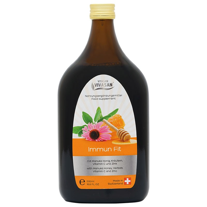 Syrop FIT immune with  honey from manuka