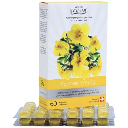Forever Young (60 Capsules) - Vitamin E Enoteric Bundle Oil — Vivasan