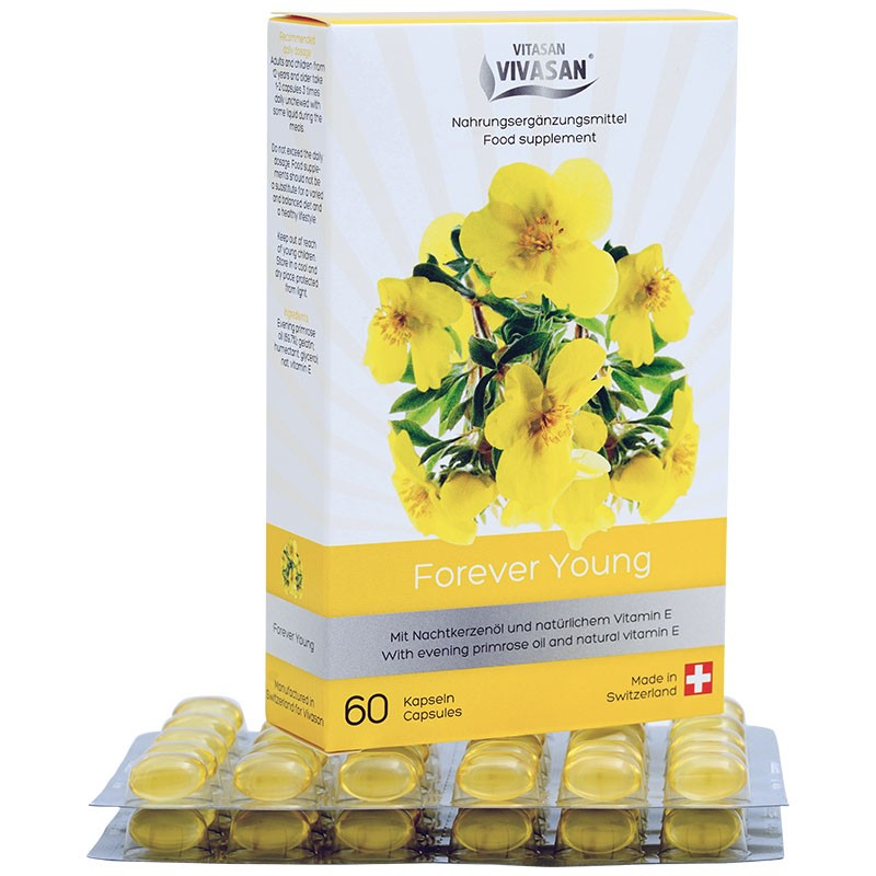 Forever Young (60 Capsules) - Vitamin E Enoteric Bundle Oil