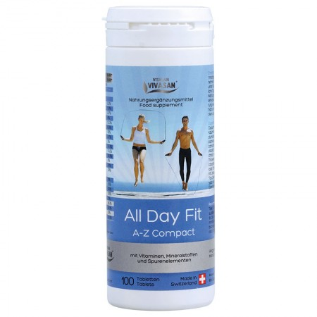 All Day Fit Vitamins A-Z Compact (100 tables) — Vivasan
