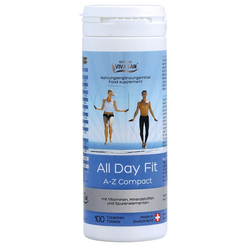 All Day Fit Vitamins A-Z Compact (100 tables)