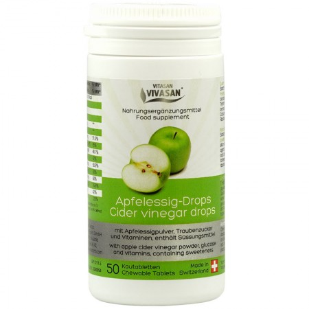 Apple cider vinegar (50 tablets) — Vivasan